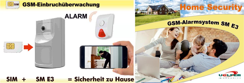 Uelfer Security - Home Security GSM-Einbruch- und Gefahrenmeldeysteme